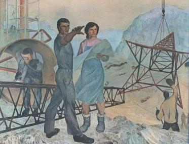 Shaban Hysa, Më Tej [Beyond], 1969, National Gallery of Art, Tirana
