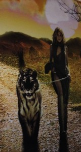 woman and tiger_bukuria
